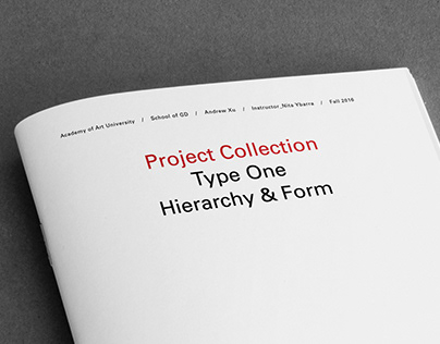 Typography: Hierarchy and Form