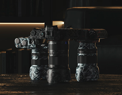 Fujifilm xseries/ Sony a7r ii/ Zenit122 Full CGI.