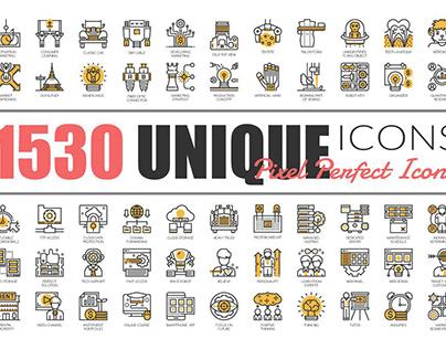 1530 UniqueLineIcons