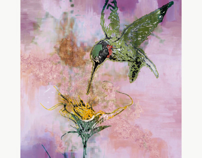 Abstract Hummingbird