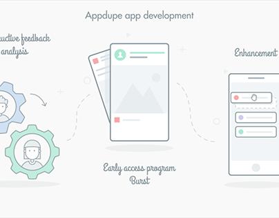 App development Icon Animation