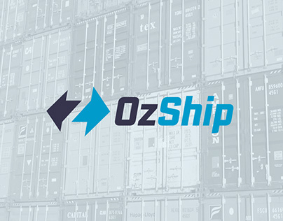 OzShip – Australian Shipping and Logistics Logo