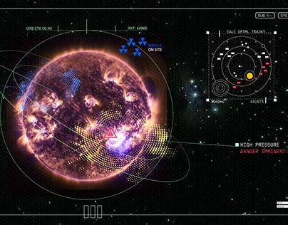 ICHON- Interstellar Command HUD for Orbital Navigation