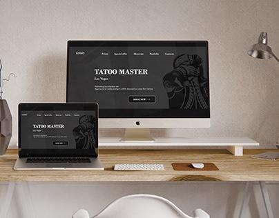 Landing page | Tattoo salon