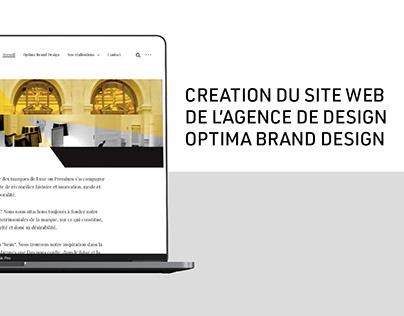 Création site web - Optima Brand Design - Wordpress