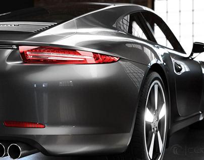 Porsche Carrera CGI