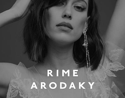 Rime Arodaky — website redesign