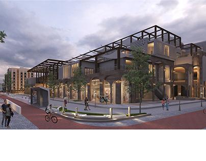 El-Wekala , a model for a LEED certified building