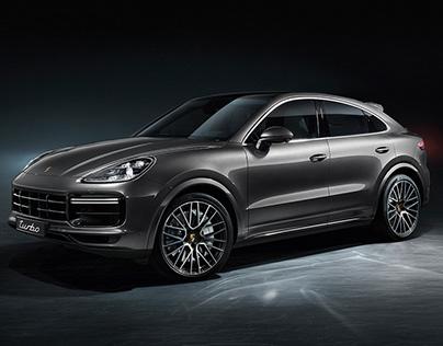 Porsche Cayenne Coupe Studio