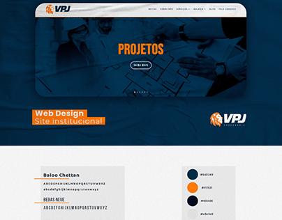 Web Site - Web Design- UI Design - VPJ Engenharia