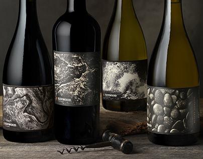 Kenwood Vineyards Rugged Elements Packaging Design
