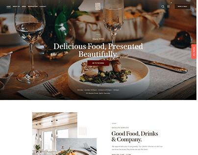 Qwery - Multi-Purpose Business WP Theme: Restaurant
