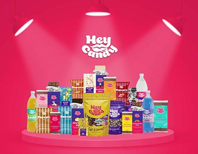 Hey Candy Branding & Packaging