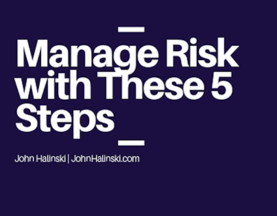 Manage Risk with These 5 Steps