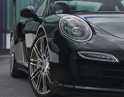 Porsche 911 Turbo S – CGI
