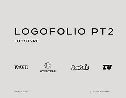 Logofolio Part 2 : Drinks logos and Logotype