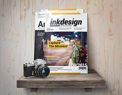 FREE InkDesign Magazine Template