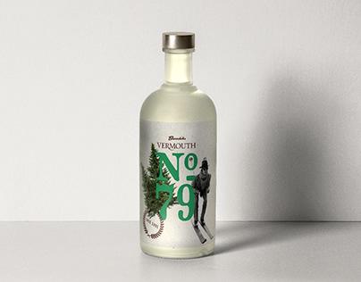 No. 79 — Packaging Design for Burschiks Vermouth