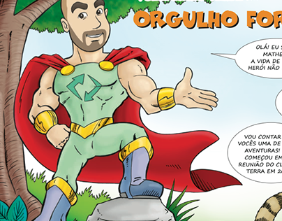Quadrinhos para Azko Nobel