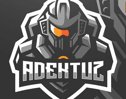 Adektuz Gaming Mascot Logo Design