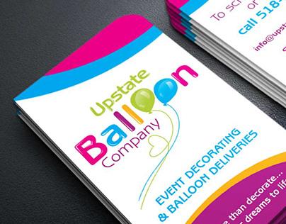 Upstate Balloon Company - Rebranding