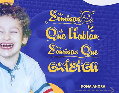 Sonrisas que hablan Fundación Fast colombia.