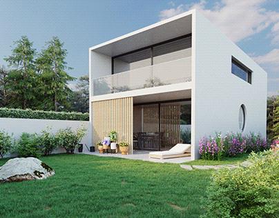 CGI: House in Braga