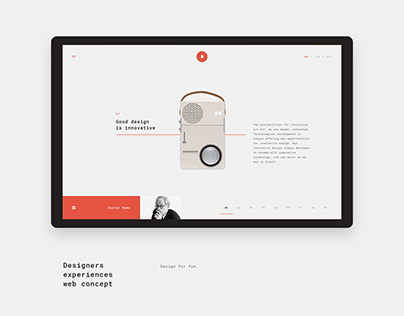 10 Principles of Good Design Concept / #365designdays