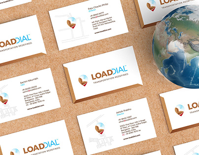 Brand Logo & Identity | Load Dial