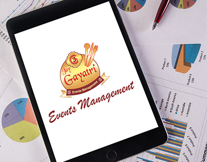 Jay Gayatri Events Management Logo Design