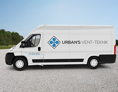 Logo design for Urban's Vent-Teknik