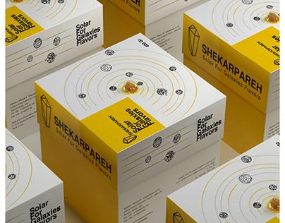 Rock candy packaging design Fanavard award 2018