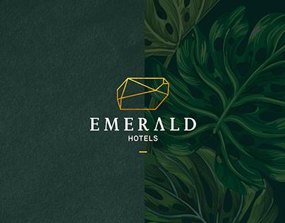 EMERALD HOTELS Logo Design