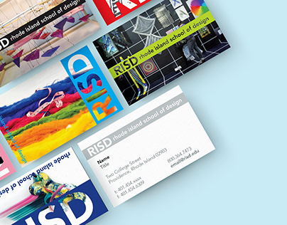 RISD Admissions Business Cards