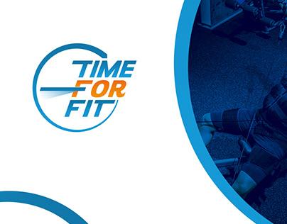Time For Fit - logo & branding