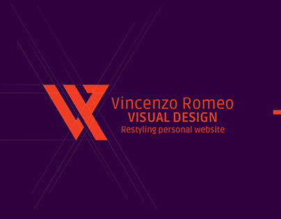 Restyling personal website - vcreative.it