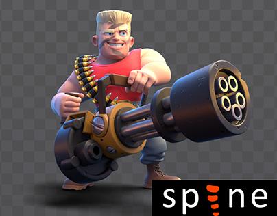 Spine Animation | War Alliance