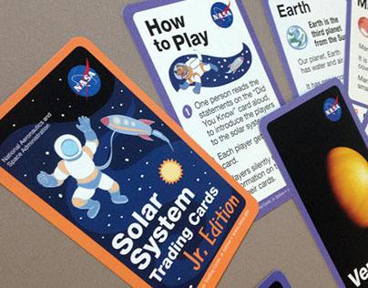 Solar System Trading Cards, Jr. Edition