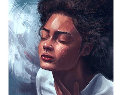 Sunkissed   Digital painting