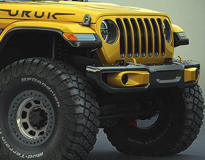 Jeep Gladiator Off road mods