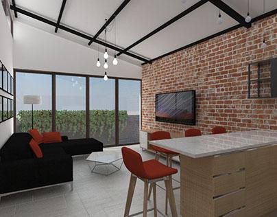 Apartment - loft style