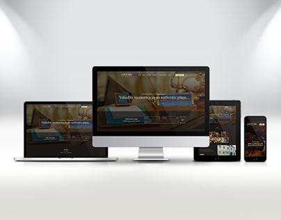 Website for Casa Krauss