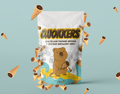 Quokkers - packaging design