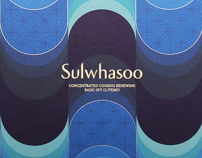 Various Packagings for Sulwhasoo