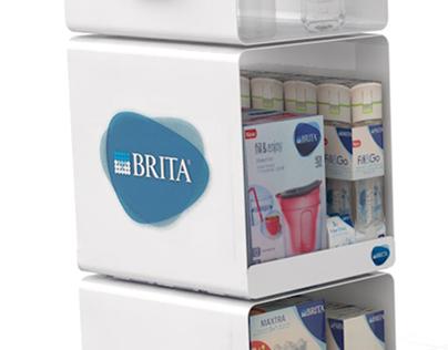Brita-floor display