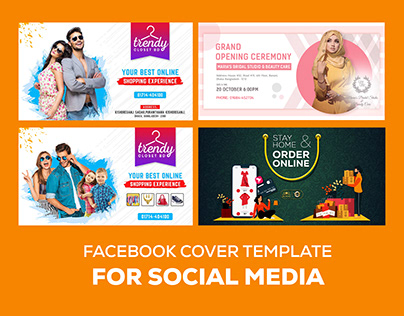 Facebook Cover Template - Web banner