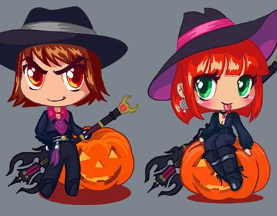 Skyforge Halloween Stickers