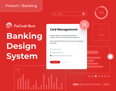 Design System for Banking Products | UX, JS