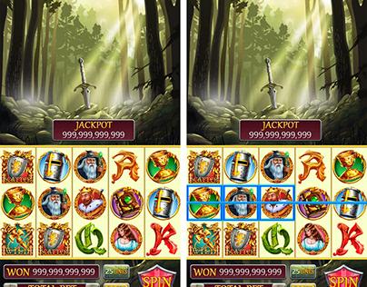 "Slot machine for SALE – ""King Arthur"""
