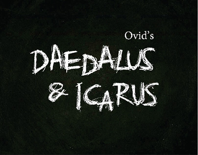 Daedalus & Icarus | Book Design